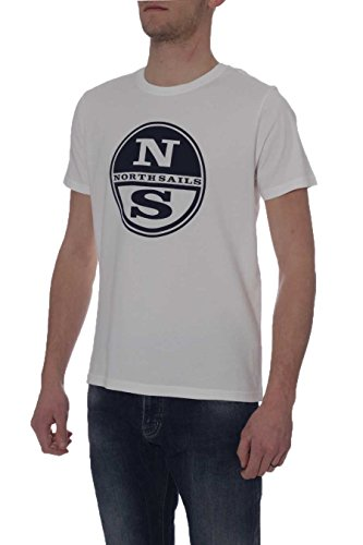 North Sails Herren T-Shirt Einheitsgröße 10 Off White