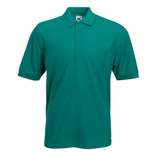 Fruit of the Loom Polo Emerald