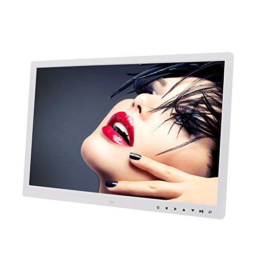 17-Zoll-HD-Touch-Taste Digitaler Fotorahmen Eingebaute Lithium-Batterie LED Elektronische Fotoalbum Wand-Werbemaschine