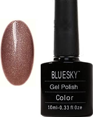 Bluesky UV LED Gel Soak Off Nail Polish, Autumn Sand
