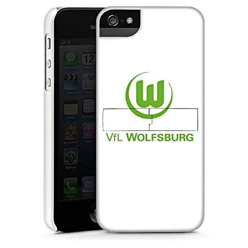 Apple iPhone X Silikon Hülle Case Schutzhülle Vfl Wolfsburg Fanartikel Wölfe Fußball Premium Case StandUp