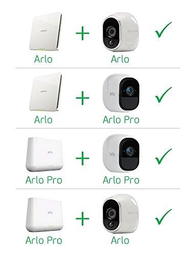 41Gtpk9J8YL [Bon Plan Smarthome!]  Netgear -  VMS4330-100EUS - Arlo Pro - Pack de 3 Caméras, Smart caméra HD 720p, grand angle 100% Sans Fils - avec b...
