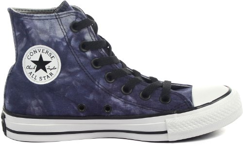Converse Ctas Tie Dye Hi, Baskets mode mixte adulte Dozar Blue/Ensign Blue/Puritan Gray