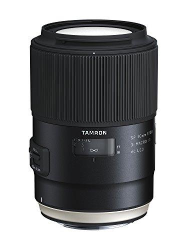 Tamron F017E SP 90 mm F/2.8 Di Macro, 1:1 VC USD Canon Kamera-Objektive (Kamera-objektive Von Tamron)