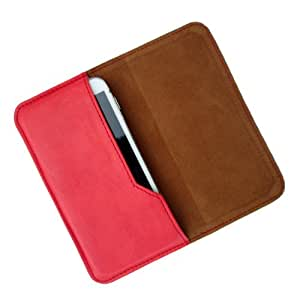 i-KitPit : PU Leather Flip Pouch Case Cover For Gionee M2 (RED)