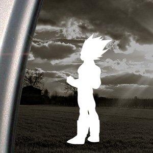 Dragonball Vegeta en vinyle autocollant pour voiture