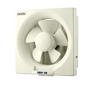 Usha Crisp Air 200mm Sweep Size, 300mm Duct Size Exhaust Fan (Ivory)