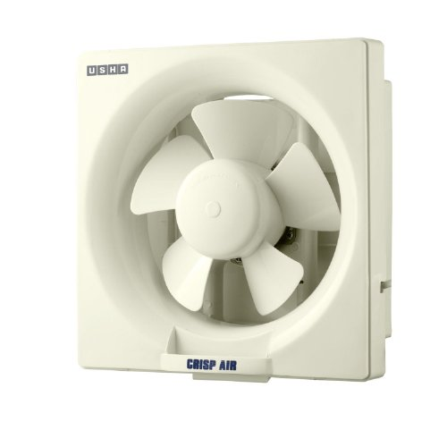 (CERTIFIED REFURBISHED) Usha Crisp Air 200mm Exhaust Fan (Ivory)