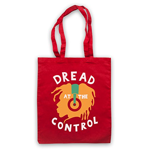 Inspiriert durch Dread At The Control As Worn By Joe Strummer Inoffiziell Umhangetaschen Rot