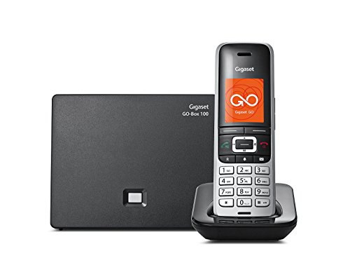 Gigaset S850A GO DECT Cordless Telephone with Answer Machine/Bluetooth/Call Blocking