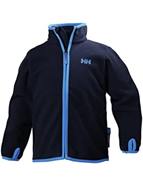 Helly Hansen Jr Daybreaker Fleece - Chaqueta polar para niños, color azul, talla 176/16