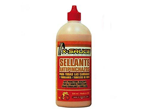 X-Sauce A8487325000298 Sellante Anti pinchazos para Cámaras, Rojo, 500ml