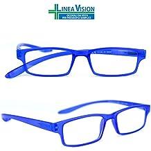 Occhiali Da Vista Per Lettura In Metallo Marca Isurf Eyewear Linea Vision Per Presbiopia Semplice Da Vicino (+1,50, Argento)