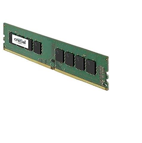Crucial 4GB DDR4 2133 MT/s (PC4-17000) SR x8 DIMM 288-Pin