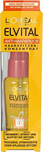 L'Oréal Paris Elvital Anti-Haarbruch Haarspitzen-Konzentrat, 2er Pack (2 x 50 ml)