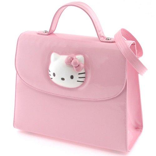 Petit sac à main Hello Kitty Glossy rose By Camomilla