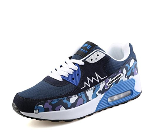 Men's Mesh Air Sole Feminino Breathable Running Shoes blue
