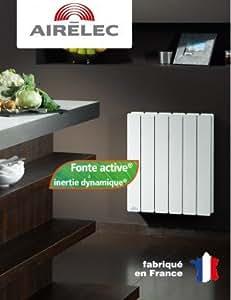 Radiateur Fonte AIRELEC - FONTEA DIGITAL 2000W Horizontal A691397