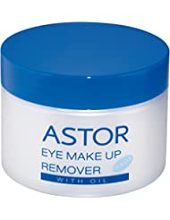 ASTOR Eye Make up Remover Pads with Oil, 2er Pack (2 x 50 ml)