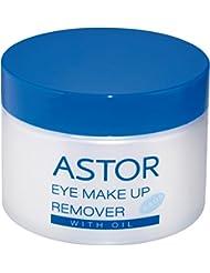 Astor Eye Make up Remover Pads with Oil, 2er Pack (2 x 50 Stück)