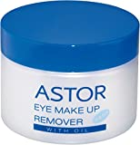 Astor Eye Make up Remover Pads with Oil, 2er Pack (2 x 50 Stück)