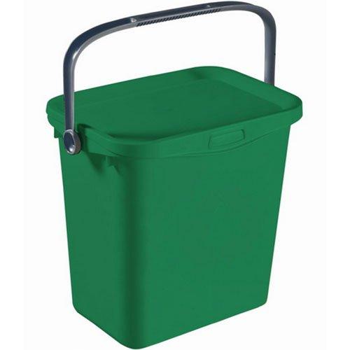 CURVER Bio Box 25,7x20,1x23,9cm in grün/Silber, Plastik, 25.7 x 20.1 x 23.9 cm