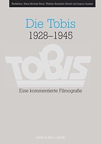 Die Tobis 1928-1945. par Klaus Haak