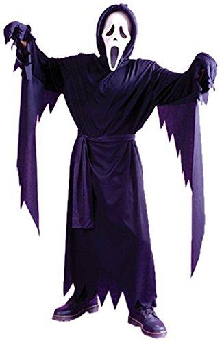 rter Schrei-Kinderkarneval / Halloweenkostüm - eine Größe (Scary Kind Halloween-kostüm Ideen)