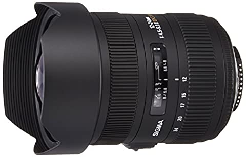 Sigma 12-24 mm F4,5-5,6 II DG HSM-Objektiv für Nikon Objektivbajonett