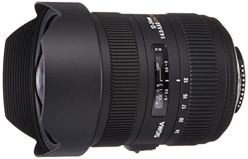 Sigma Obiettivo 12-24mm-F/4.5-5.6-AF II DG HSM,Attacco CANON