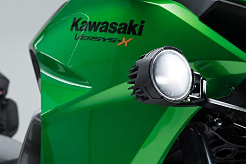 SW-MOTECH Scheinwerfer-Halter, Schwarz für Kawasaki Versys-X300 ABS (16-) -
