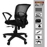 SAVYA HOME Apex Chairs Trax Medium Back Office Chair