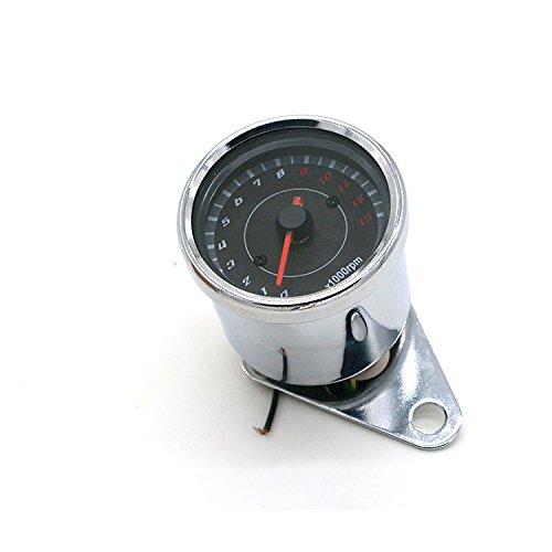 Anay Universal Digital 13000RPM Moto tacómetro analógico calibre para motocicleta