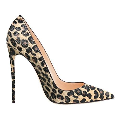 EKS , Escarpins femme - Leopard
