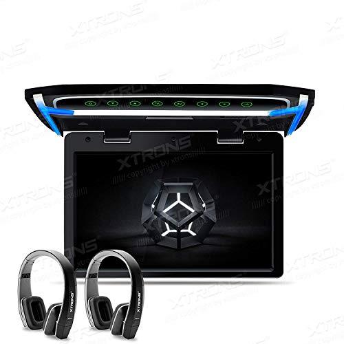 Xtrons/® 30,7/cm vid/éo Full HD 1080p de voiture Overhead lecteur Toit mont/é moniteur HDMI Port