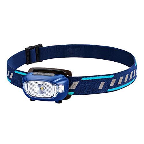 DUOER-lampe frontales Torche à LED - Super Bright, étanche, Lightweigh, Angle de Bandeau réglable, idéal pour la Course, Le Camping, la Lecture