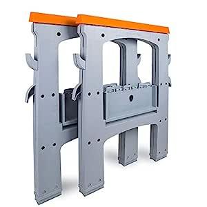 AmazonBasics Folding Sawhorse - 408 kg - 2-Pack