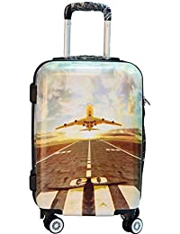 Kabra Bags Polorazor Aeroplane Designer 20 Inch Trolley Suitcases & Trolley Bags