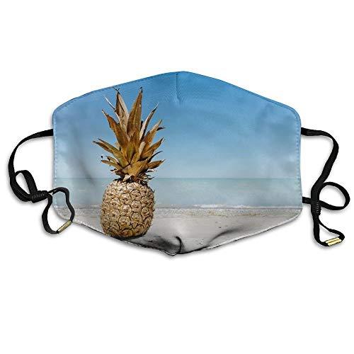 Masken, Masken für Erwachsene, Face Mask Reusable, Warm Windproof Mouth Mask, Boys Winter Warm Mouth Anti-Dust Flu Face Mask Pineapple Supply (Bush-maske)