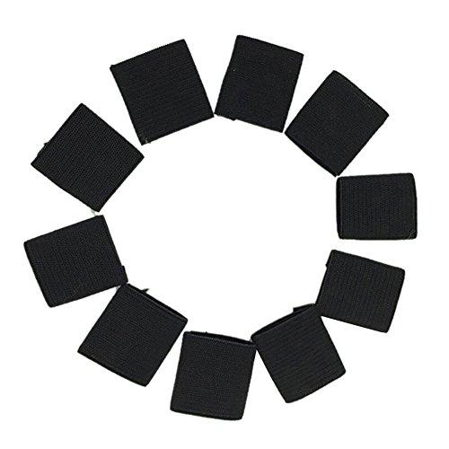 Nicedeal Fingerbandage, Finger-Splitschutz für Fingerunterstützung, Kompressions-Fingerschutz für Basketball, Tennis und alle Sportarten, 10 Stück Sport-Schutzausrüstung, wie Knieschoner, etc.