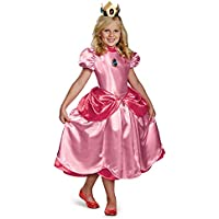 Disfraz Princesa Peach Deluxe niña 7-8 años (122/128)