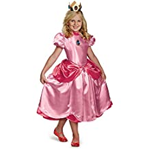 Disfraz Princesa Peach Deluxe niña 4-6 años (104/116)