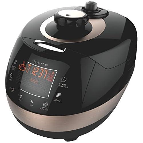 BERG 1100W 5L Multi-Function Electric Pressure Cooker