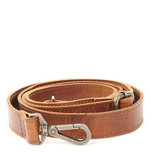 LECONI Trageriemen Schulterriemen längenverstellbarer Trage-Gurt für Damentaschen und Herrentaschen Leder 150cm 2,5x150cm braun LEC-R7 -