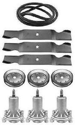 tondeuses pièces et accessoires Husqvarna Lgt2654 137,2 cm pont de tondeuse pièces fuseaux Lames Ceinture 53296103 poulies