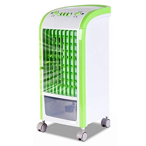 HAIPENG Mobile Tragbare Klimaanlage Klimagerät Luftkühler Lüfter Kühlung Durch Wasserverdunstung Luftreiniger Handy, Mobiltelefon 3 Geschwindigkeiten, 80W