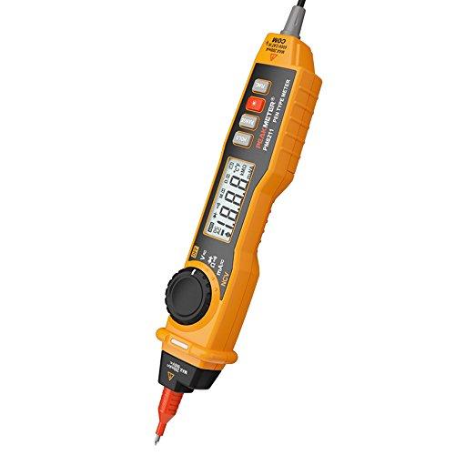 Protmex MS8211 Multímetro Tipo de pluma LCD Digital Multímetro DC / AC voltaje Corriente Resistencia Ensayador Amperímetro Multitester Con NCV