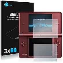 Nintendo DSi XL Film Protection [6 Pièces] Protection écran Film Protecteur