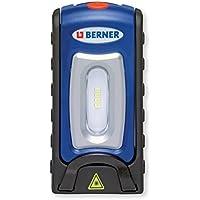 Berner Pocket deLux Bright - Linterna de taller LED con cargador microUSB