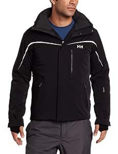 Helly Hansen Men's Atlas Ski Jacket - Black, Large